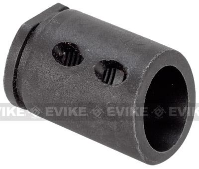 Matrix JG P90 Type Metal Flashhider for Airsoft AEG (14mm Negative)