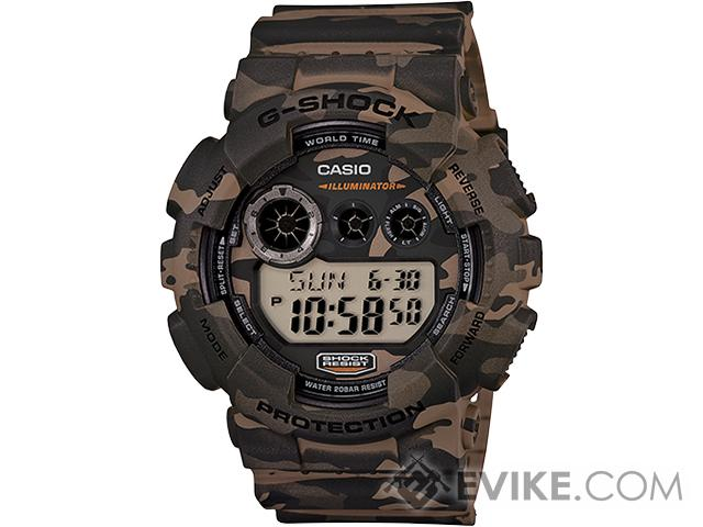 Casio G-Shock GD120CM-5 Digital Watch - Camo