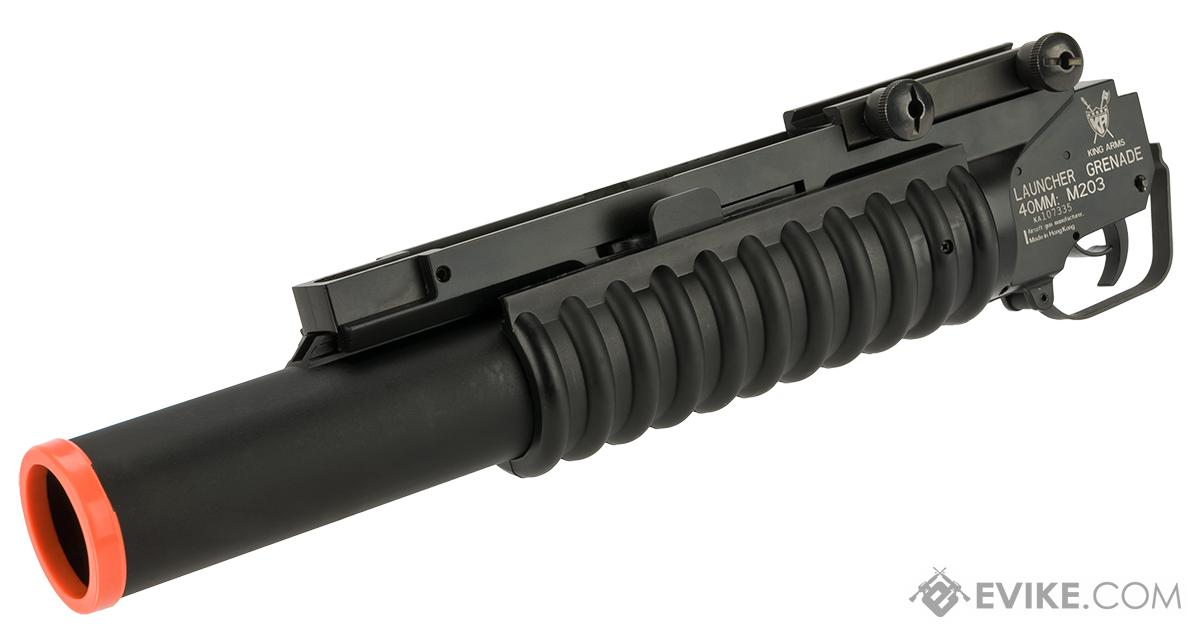 King Arms M203 40mm Airsoft Grenade Launcher (Length: Long)