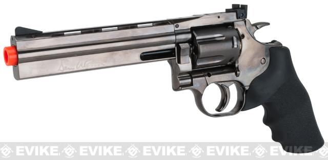 Dan Wesson 715 CO2 Powered Airsoft Revolver (Version: Low Power Version / Grey / 6)