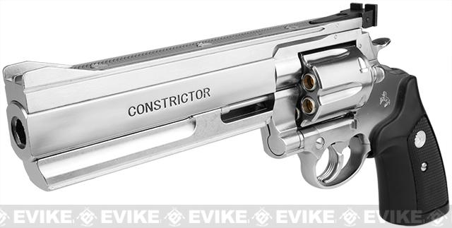 z Marushin Constrictor Maxi 8mm Full Size Airsoft Gas Revolver - Chrome