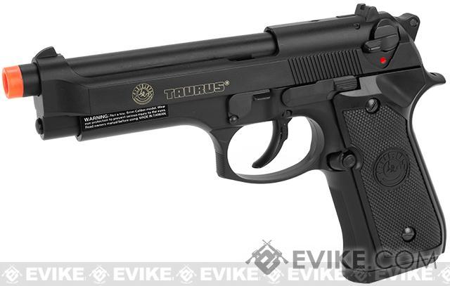 KJW Full Size Taurus PT92 M9 Licensed Airsoft Gas Blowback - Black