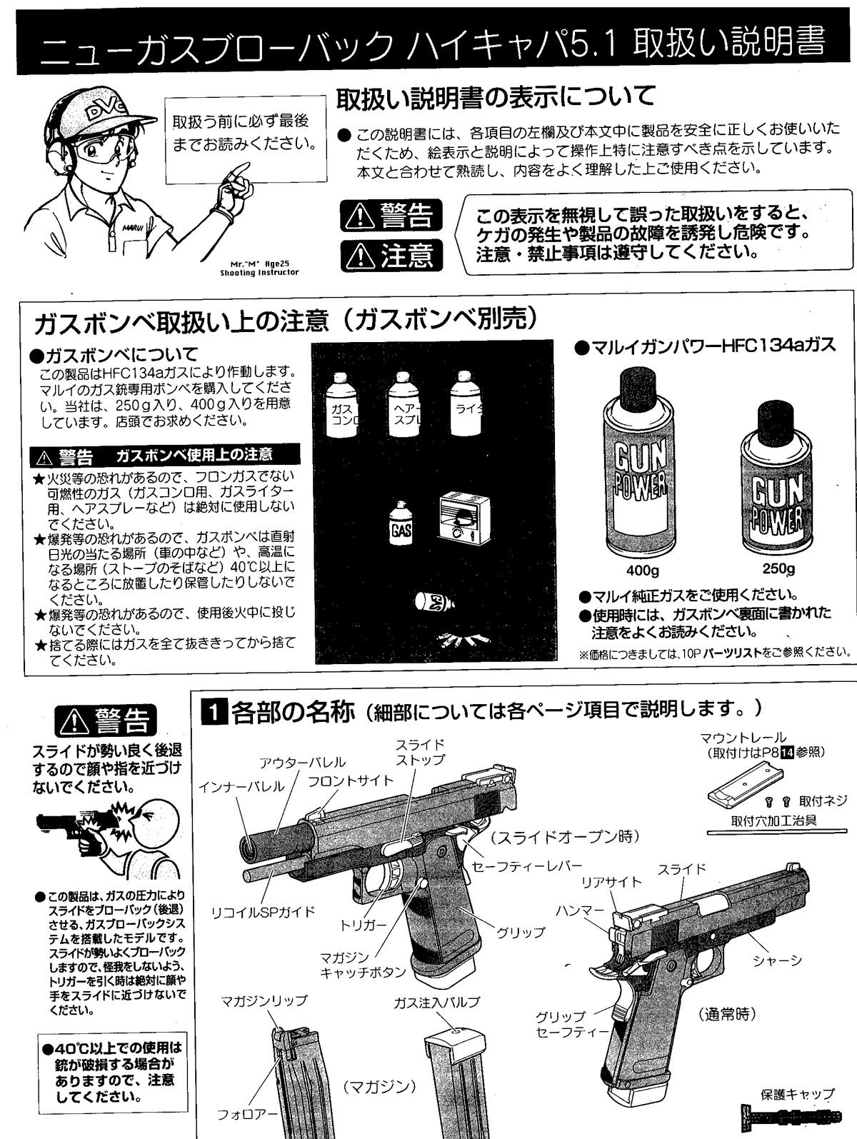 Tm Manuals Hydraulic Schematics Schematic M983 W O Array Free Download Manual For Tokyo Marui Hi Capa Gas Blowback Gun Rh