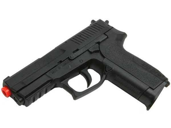 Bone Yard - SoftAir Licensed SIG SAUER SP2022 CO2 Power Airsoft Gas Pistol (Missing Magazine)