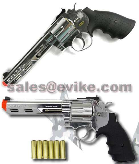 Bone Yard - HFC Savage Bull Gas Revolvers (Store Display, Non-Working Or Refurbished Models)