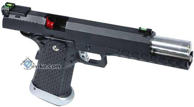 Kjw Xcelerator 6 Quot Hi Capa Full Metal Airsoft Gas Blowback