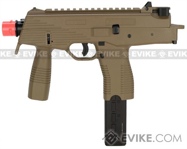 z KWA KMP9 Gas Blowback Airsoft Submachine Gun (Color: Dark Earth w/ Grip)