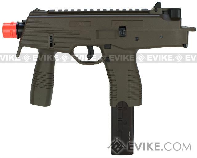 KWA KMP9 Gas Blowback Airsoft Submachine Gun (Color: Ranger Grey w/ Grip)