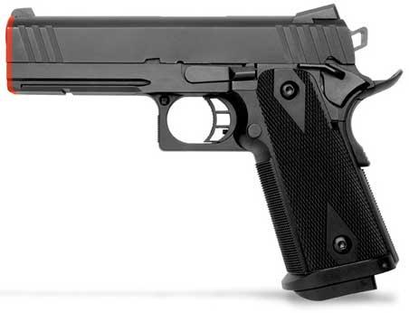 z KWA Full Metal M1911DS PTP Airsoft Gas Blowback.