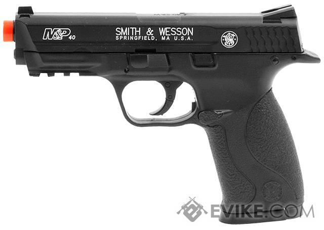 z Smith and Wesson M&P40 CO2 Powered Non-Blowback Airsoft Pistol by Softair - Black