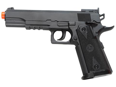 Win Gun High Power 1911 Co2 Powered Airsoft Gas Pistol - Black