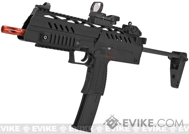 WE-Tech SMG-8  Airsoft GBB Sub Machine Gun (Color: Black)