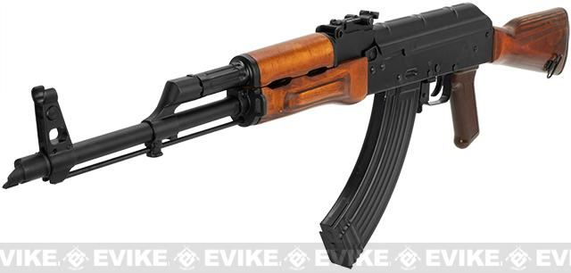 Pre-Order ETA November 2017 GHK Full Metal AKM Airsoft GBB Rifle with Real Wood Furniture