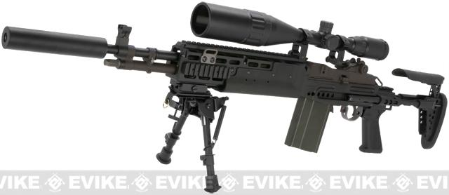 WE-Tech M14 EBR Full Metal Airsoft Gas Blowback Sniper Rifle