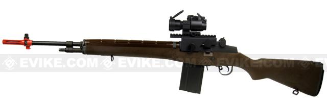 Bone Yard - WE-Tech M14 Full Metal Airsoft Gas Blowback Sniper Rifle (Store Display, Non-Working Or Refurbished Models)