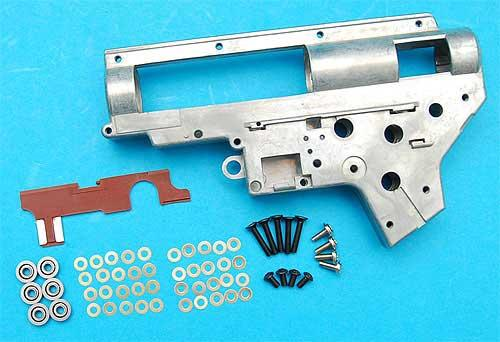 G&P Reinforced V.2 Gearbox Set with 8mm Bearing for M4 MP5 M16 Series AEG Rifle