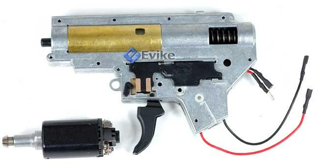 Complete JG / Echo1 Reinforced Full Metal Gearbox with Motor for G3 Series  Airsoft AEG Rifle