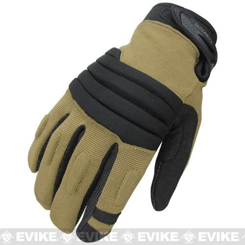 Condor STRYKER Tactical Gloves - Tan (Size: Small)