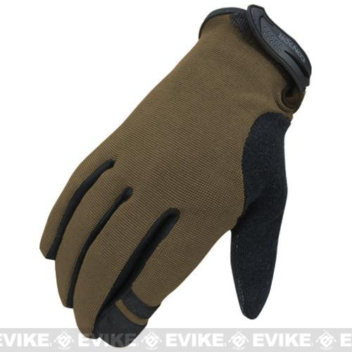 Condor Shooter Tactical Gloves  (Color: Tan / Small)