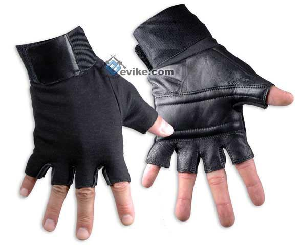 Matrix Special Forces Neoprene Tactical Gloves - Half Finger (Size: Medium)
