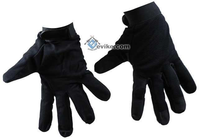 Avengers Mil-Spec Tactical Gloves - Black (Size: Medium)
