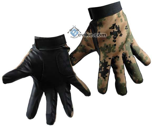 Matrix Special Forces Neoprene Tactical Gloves - Digital Woodland Marpat Camo (Size: XX-Large)