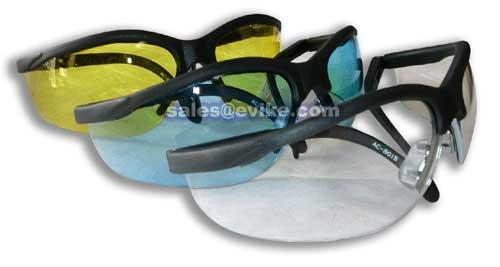 HFC Airsoft Safety Shooting Glasses (One Set) - Clear Lens