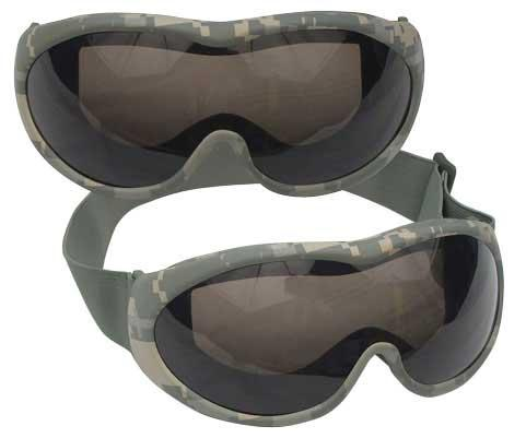 Military DesertTec ACU Digital Desert Goggles (Anti-Fog / UF400 / CE Approved)