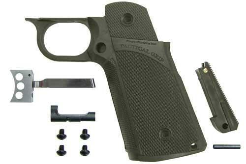 Guarder Tanio Koba Marui / WE / KJW Hi-Capa Tactical Grip Set. (OD Green)