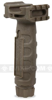 G&G Armament Mold Injection Forward Grip for Rail Systems (Tan)