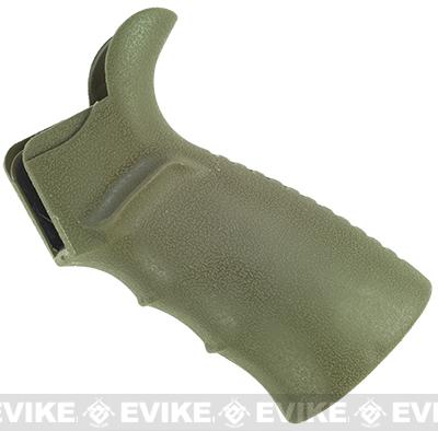 UTG Ergonomic Motor Housing Pistol Grip for M4 / M16 Series Airsoft AEG (Color: OD Green)