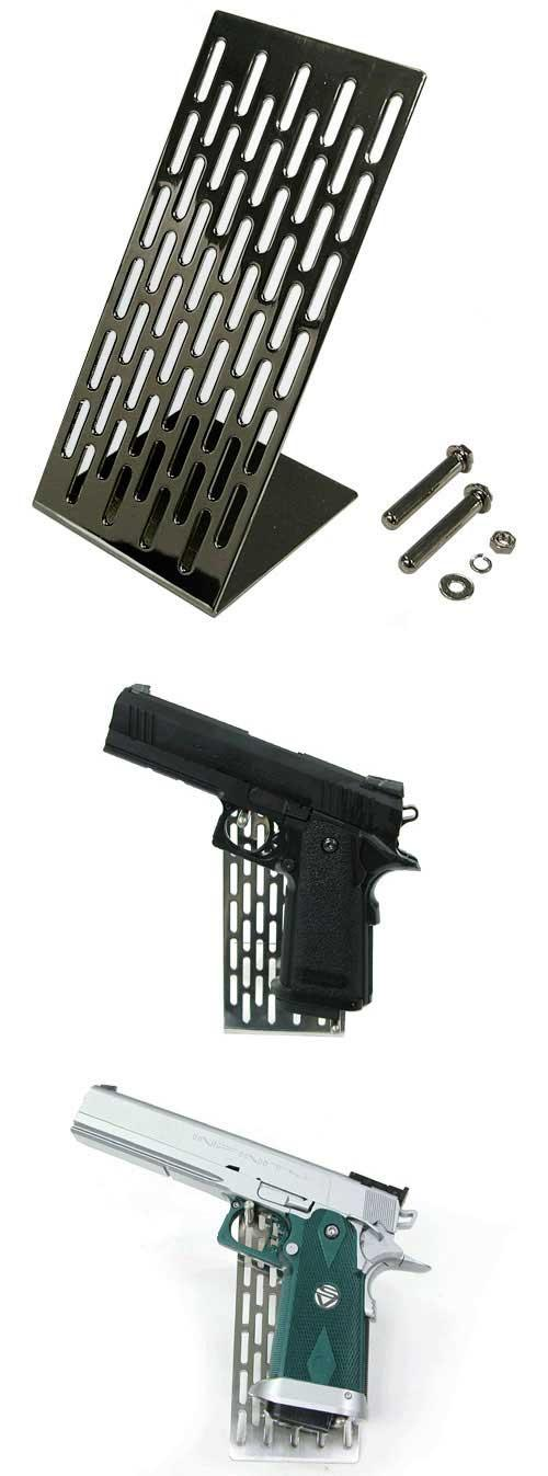 z Guarder Stainless Modular Handgun Stand (Black)