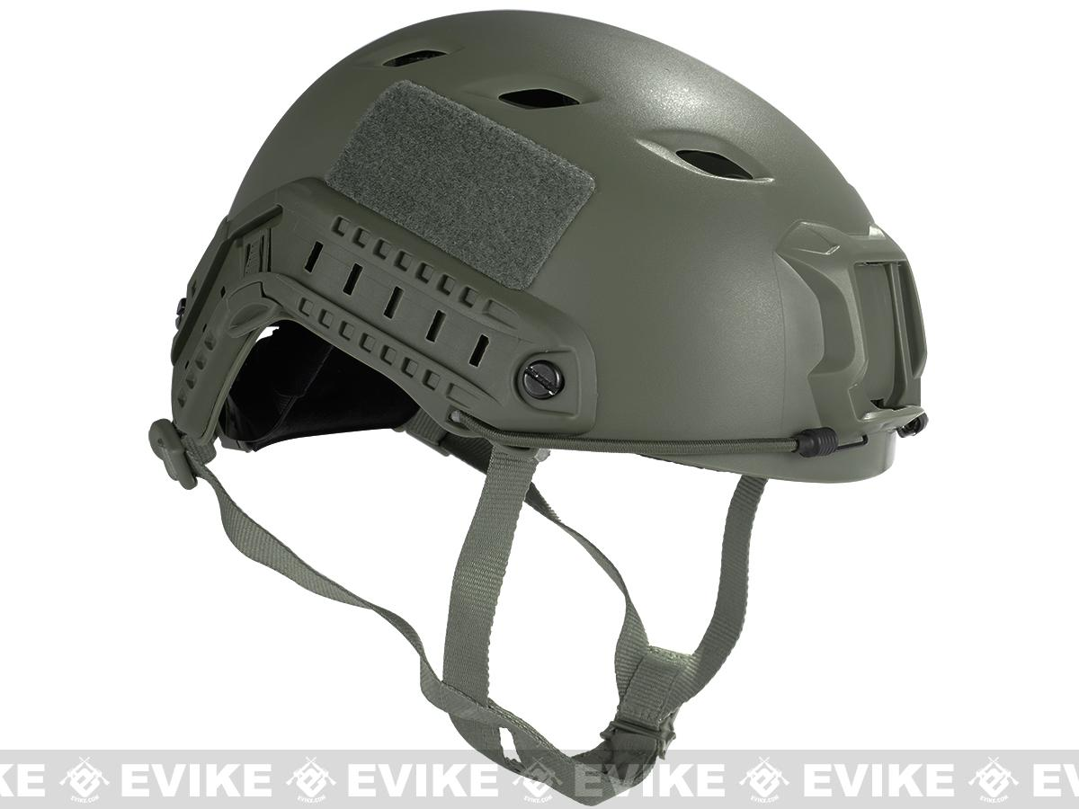 Emerson Bump Type Tactical Airsoft Helmet (BJ Type / Advanced / Foliage Green / Medium - Large)