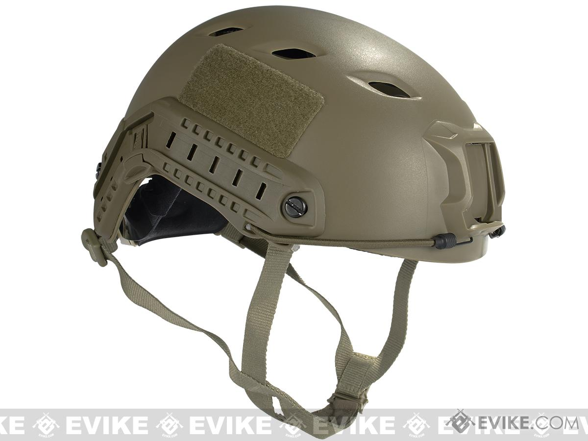6mmProShop Bump Type Tactical Airsoft Helmet (Type: BJ / Advanced / Flat Dark Earth / Large- Extra Large)