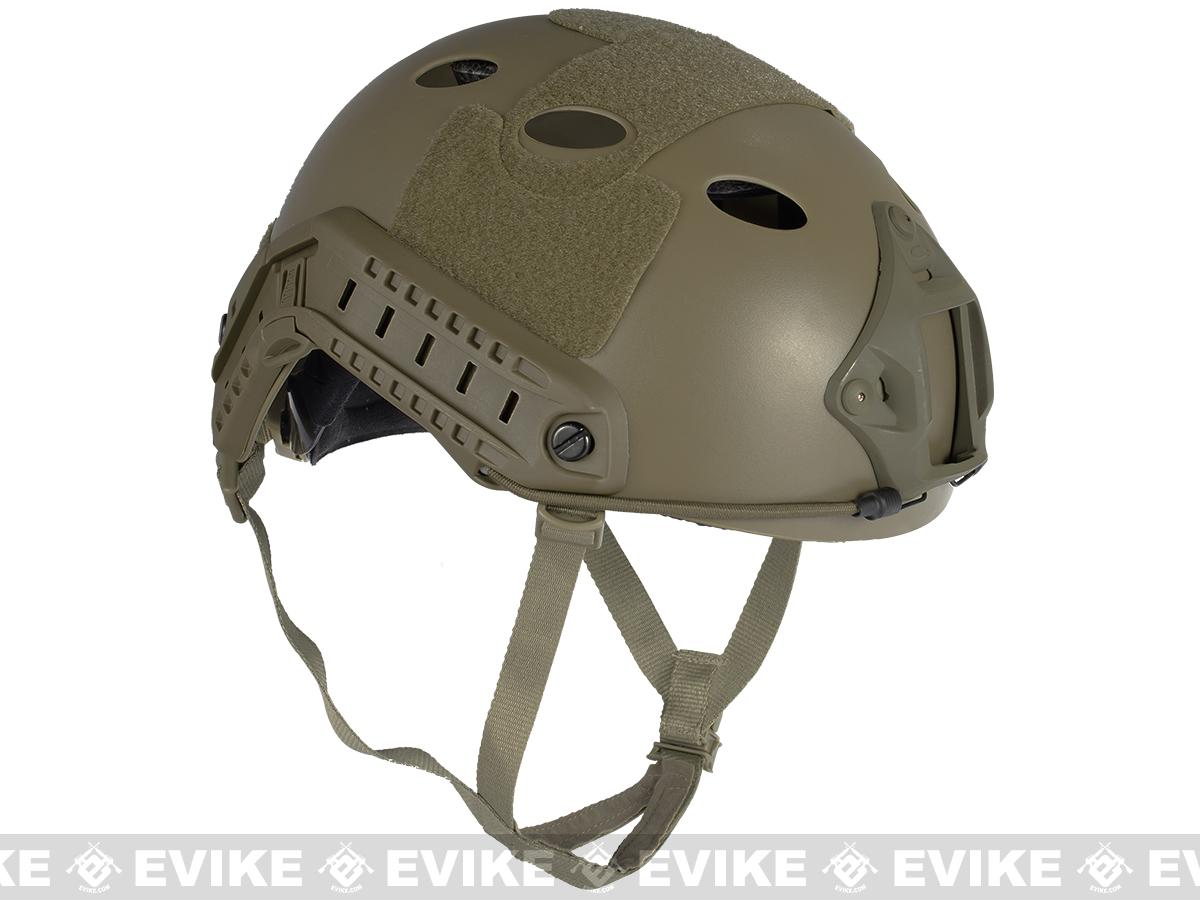 Pre-Order ETA October 2017 6mmProShop Bump Type Tactical Airsoft Helmet (Type: PJ / Advanced / Dark Earth)