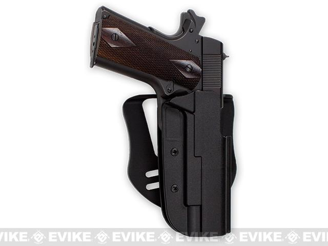 Blade-Tech Revolution Paddle Holster w/ Adjustable Belt Attachment (Model: 1911 Full Size / Black / Right Hand)
