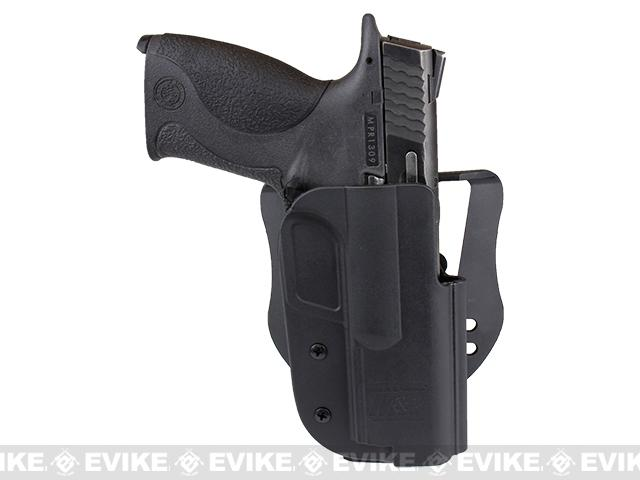 Blade-Tech Revolution Paddle Holster w/ Adjustable Belt Attachment - S&W M&P 9 / 40 / 45 (Right Hand - Black)