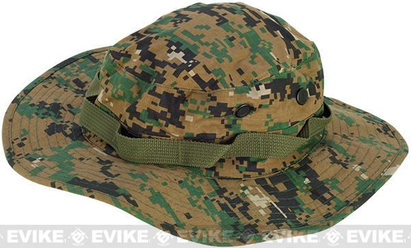 Matrix Boonie Hat - Digital Woodland (Size: Large)