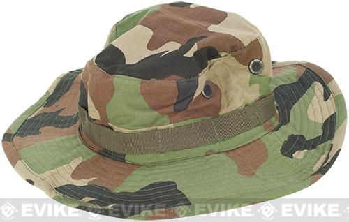 Matrix Lightweight Rip Stop Jungle Boonie Hat (Color: Woodland Camo / Medium)