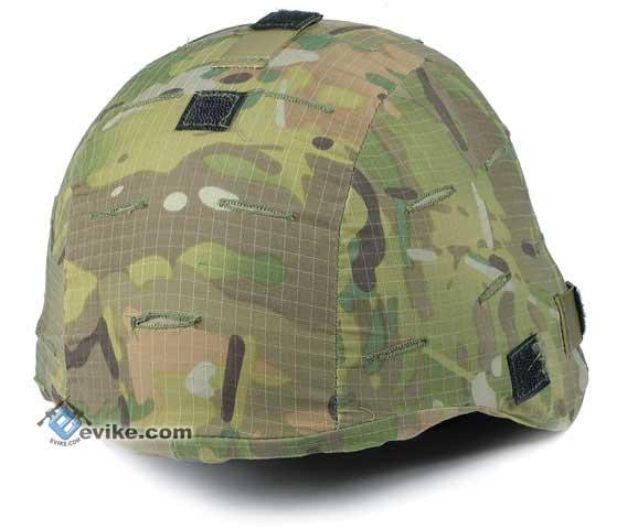 Military Style Combat Helmet Cover for MICH / ACH / TC-2000 Protective Combat Helmet Series - Multicam
