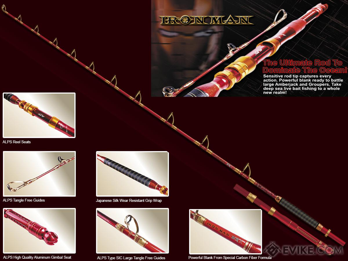 Jigging Master Iron Man 8'2 2.50M Limited Edition Deep Sea Boat Rod
