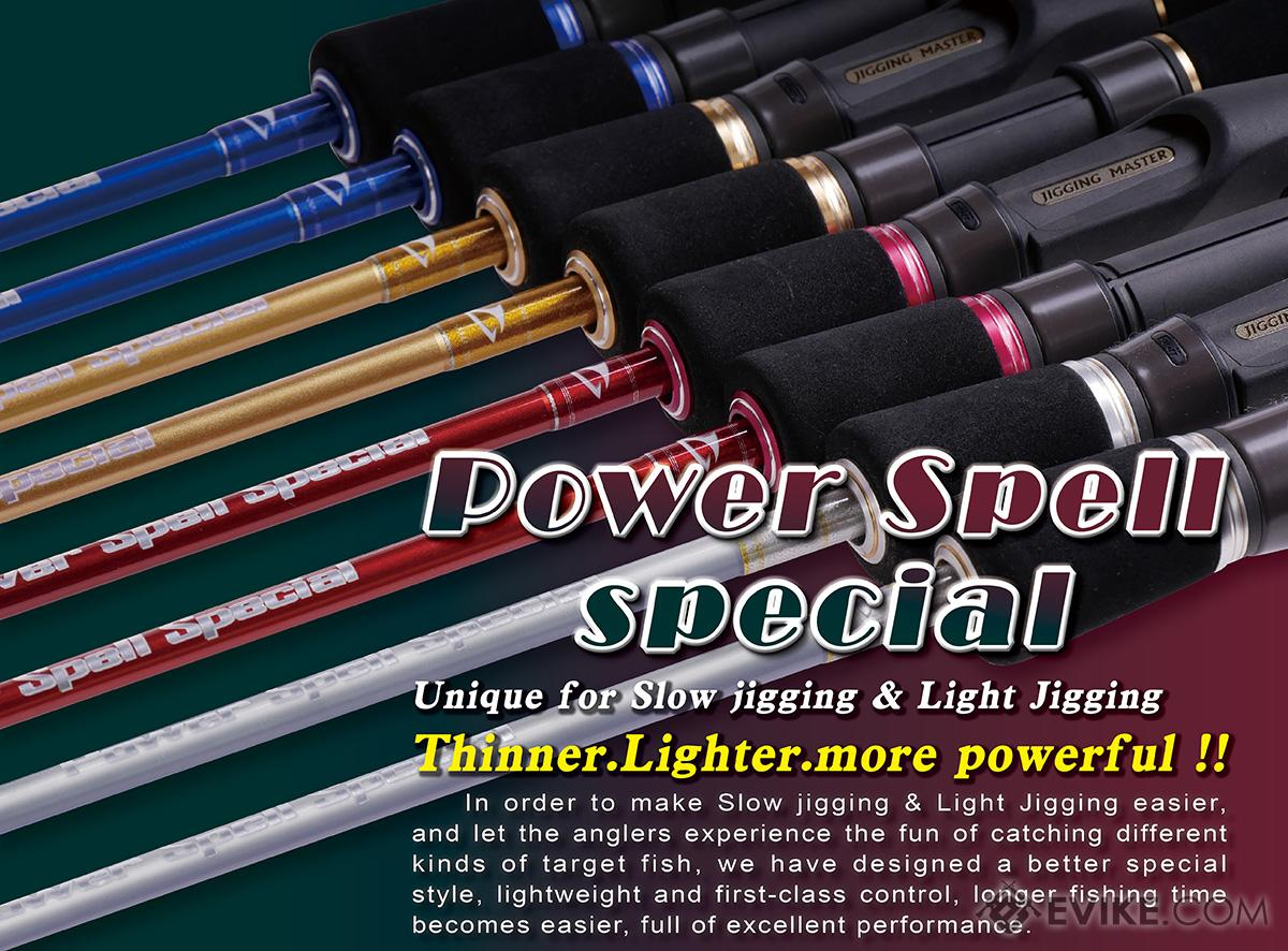 Jigging Master Power Spell Special Jigging Fishing Rod (Model: #1 63B XXUL)