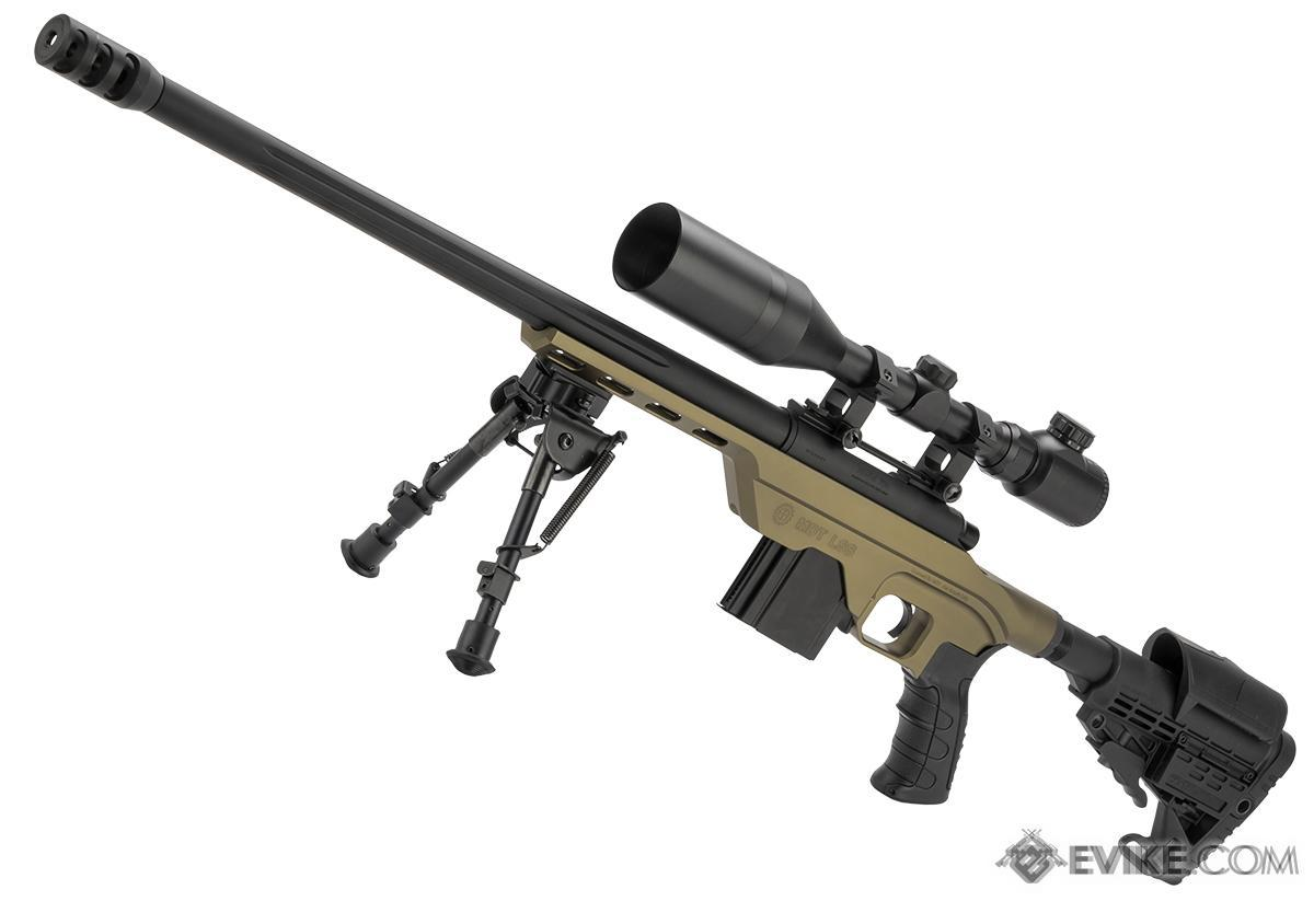King Arms MDT LSS Gas Powered Airsoft Sniper Rifle (Color: Dark Earth)