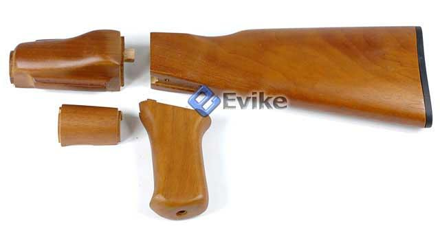 z Matrix Real Steel Real Wood Kit for AK Beta Series Airsoft Electric AEG.