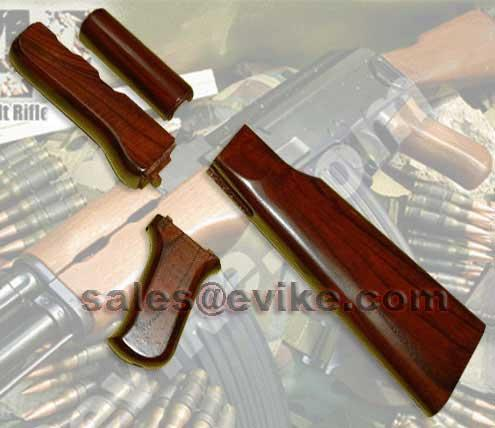 Real hard wood furniture kit for ak47 ak series airsoft aeg Ak 47 wooden furniture