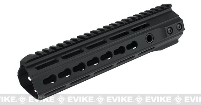 ICS Full Metal Free Float Tubular Keymod Handguard for M4 / M16 Series Airsoft AEG Rifles - 9