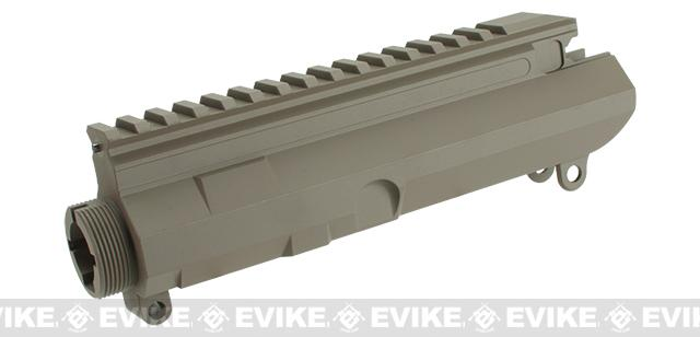 ICS Airsoft MK3 Full Metal Upper Receiver with  Dust Cover (Color: Tan)