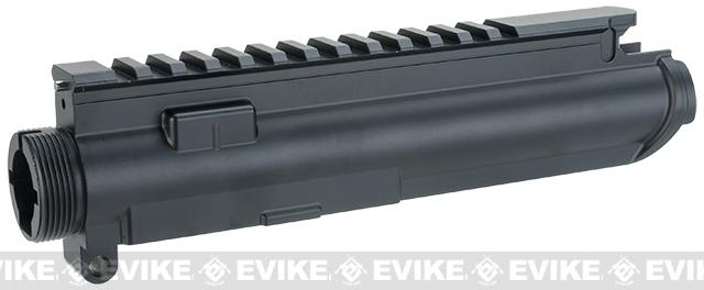 ICS Airsoft UK1 Full Metal Upper Receiver with Dust Cover - Black