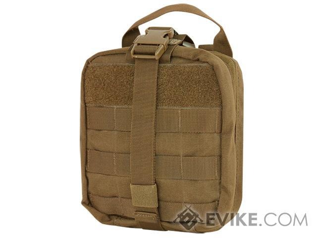 Condor Tactical Rip-Away EMT Pouch (Color: Coyote Brown)