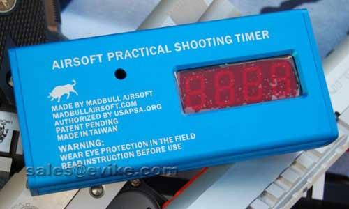 Mad Bull Stop Timer For Airsoft Speed Shooting